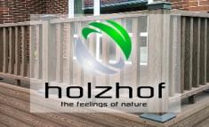 Ограждения для террас ДПК от Holzhof (Хольцхоф)
