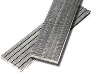 Террасная доска ДПК UnoDeck Eterno - Серый