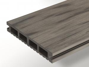 Террасная доска WOODVEX Select Colorite Серый дым