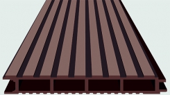 Доска Террасная SW Ulmus Темно-коричневая 4 м