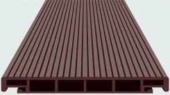 Доска Террасная SW Salix Темно-коричневая 4 м