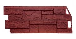 Сайдинг Камень Природный Красно-Коричневый