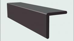 Угол ДПК SaveWood 4 м Темно-коричневый