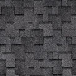 Битумная черпица Shinglas Аккорд Серый